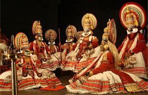 Kathakali  Play with Kaurava