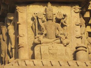 Khajuraho DulaDeo Temple Sculpture Outer Wall