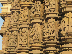 Khajuraho India DulaDeo Temple Sculptures 1
