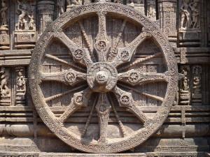 Konark Sun Temple Wheel