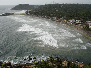 Kovalam   view from the lighthouse