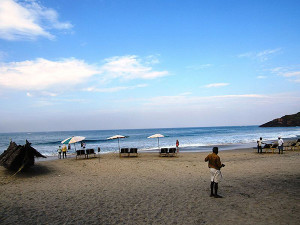 Kovalam Beach only International Beach in India