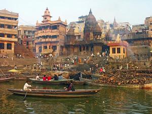 Manikarnika Cremation Ghat Varanasi
