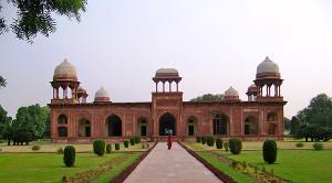 Mariams Tomb Sikandra Agra