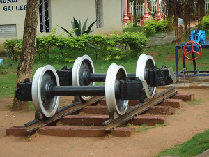Mysore Rail Museum Train Wheels