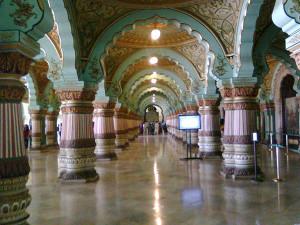 Mysore palace gallery