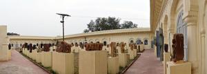 Open air Gallery Maharaja Chhatrasal Museum Dhubela