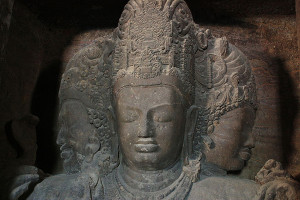Shiva Trimurti Elephanta Caves