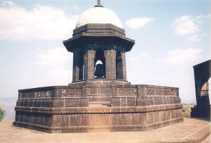 Shivaji Maharajs Samadhi in Raigad
