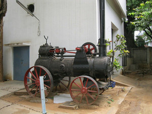 Steam engine in Visvesvaraya museum