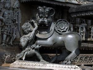 Stone Carvings Chennakeshava Temple Beluru