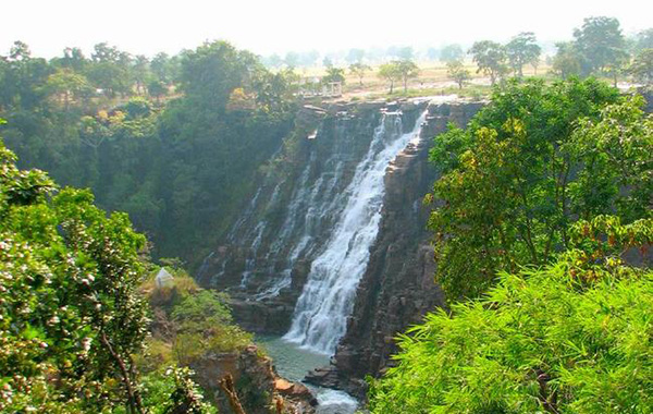 Teerathgarh Falls is a waterfall at Kanger Ghati in Bastar