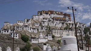 Thikse Monastery Front