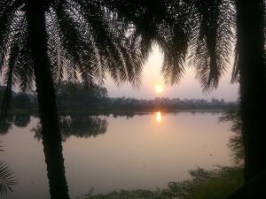 Van Vihar at Sunset