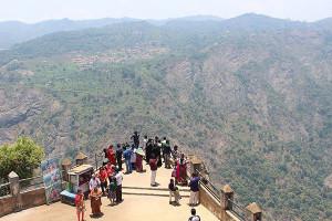 View from the Dolphin Peak in OotyTamil Nadu