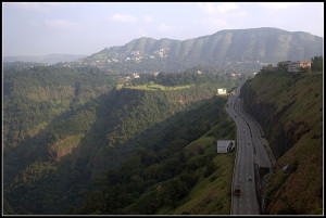 View of Western ghats from Rajmachi