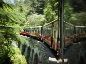 india kalka shimla railway train
