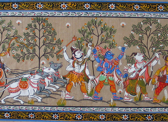 patachitra paintings of orissa