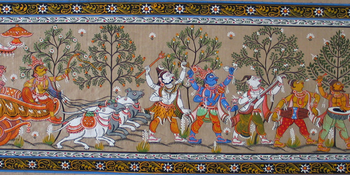 patachitra paintings of orissa
