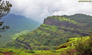 Matheran Mountain in Monsoon