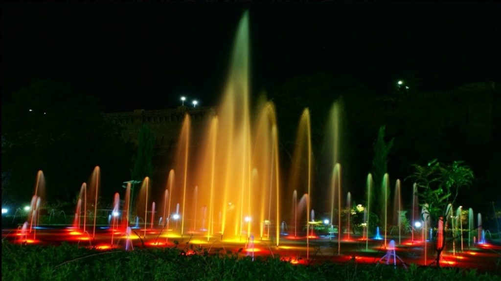 Musical Fountain, Brindavan Garden, Mysore