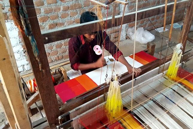 Pochampally Saree making